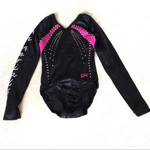 GK Elite Competition Long Sleeve Leotard-Small